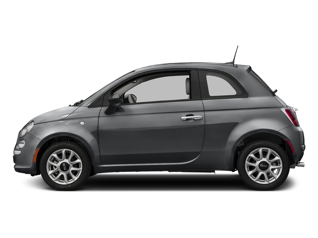 Granito Lucente (Granite Crystal) 2017 FIAT 500 Pictures 500 Pop Hatch photos side view