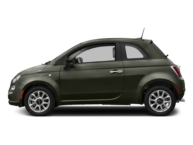 Verde Oliva (Olive Green) 2017 FIAT 500 Pictures 500 Pop Hatch photos side view