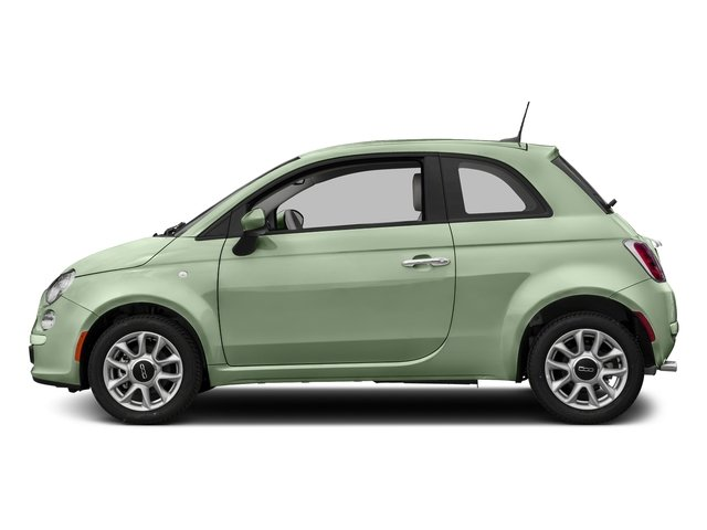 Latte Menta 2017 FIAT 500 Pictures 500 Lounge Hatch photos side view