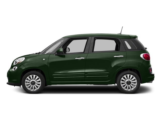 Verde Bosco Perla (Forest Green) 2017 FIAT 500L Pictures 500L Pop Hatch photos side view
