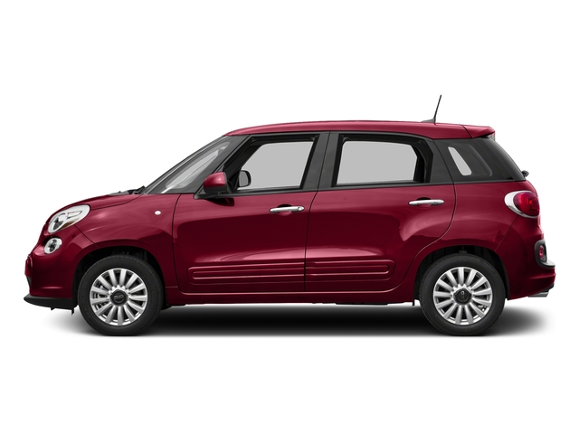 Rosso Perla (Deep Lava Red Pearl) 2017 FIAT 500L Pictures 500L Pop Hatch photos side view