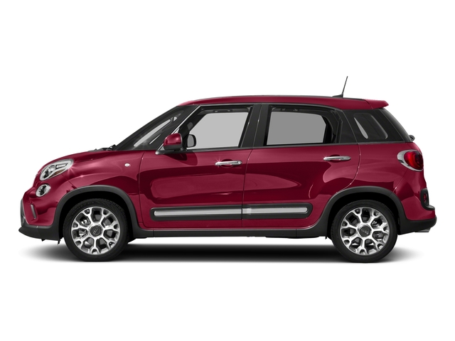 Rosso Perla (Deep Lava Red Pearl) 2017 FIAT 500L Pictures 500L Trekking Hatch photos side view
