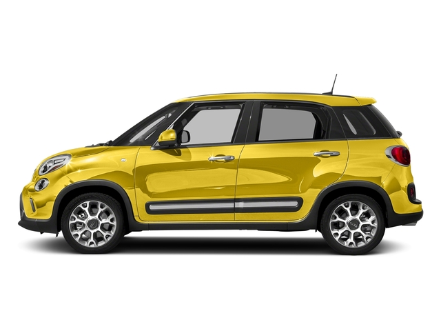 Giallo (Yellow) 2017 FIAT 500L Pictures 500L Trekking Hatch photos side view
