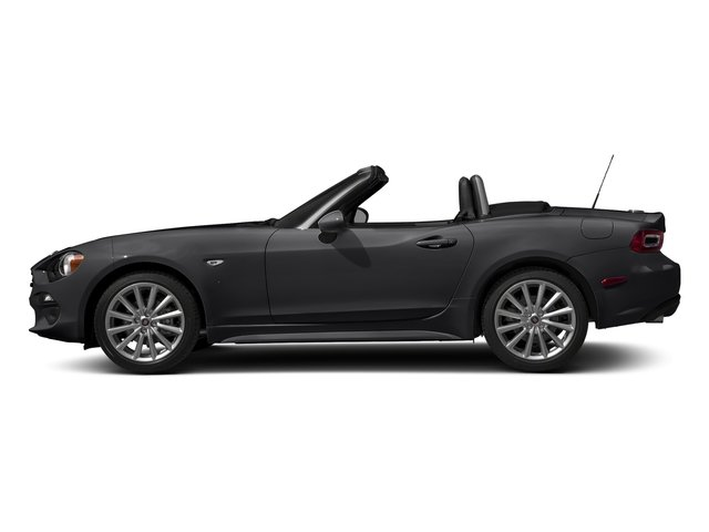 Grigio Moda Meteor Gray 2017 FIAT 124 Spider Pictures 124 Spider Lusso Convertible photos side view