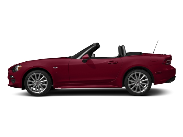 Rosso Red 2017 FIAT 124 Spider Pictures 124 Spider Lusso Convertible photos side view