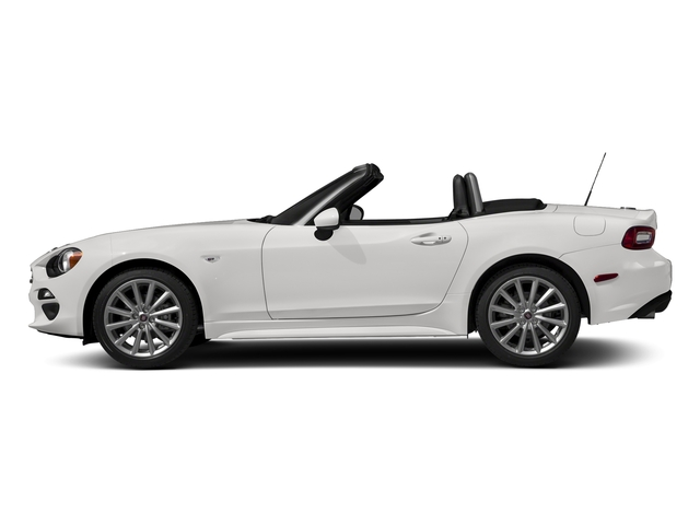 Bianco Gelato White 2017 FIAT 124 Spider Pictures 124 Spider Lusso Convertible photos side view