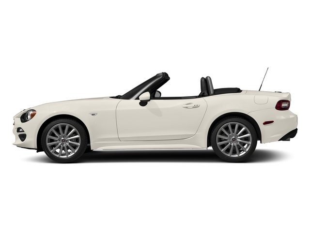 Bianco Perla (Tri-Coat White) 2017 FIAT 124 Spider Pictures 124 Spider Lusso Convertible photos side view