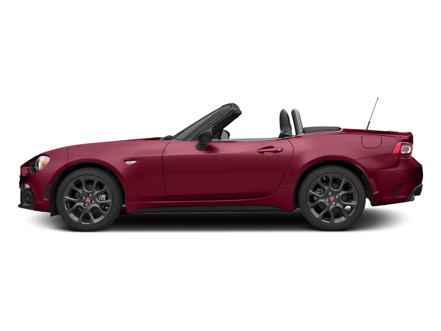 Rosso Red 2017 FIAT 124 Spider Pictures 124 Spider Conv 2D Elaborazione Abarth I4 Turbo photos side view