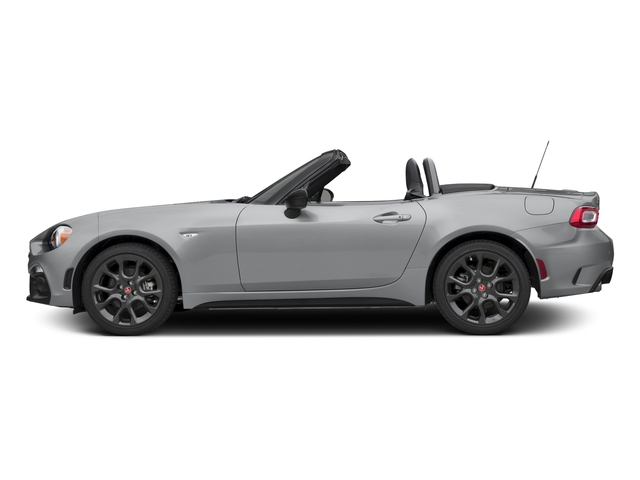 Grigio Argento (Aluminum) 2017 FIAT 124 Spider Pictures 124 Spider Conv 2D Elaborazione Abarth I4 Turbo photos side view