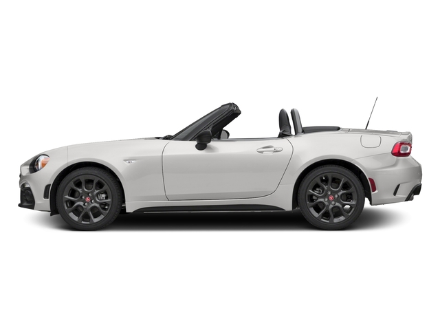Bianco Gelato White 2017 FIAT 124 Spider Pictures 124 Spider Conv 2D Elaborazione Abarth I4 Turbo photos side view