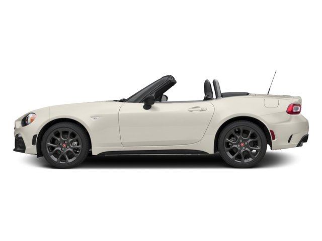 Bianco Perla (Tri-Coat White) 2017 FIAT 124 Spider Pictures 124 Spider Conv 2D Elaborazione Abarth I4 Turbo photos side view