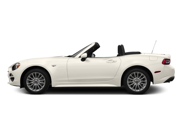 Bianco Gelato White 2017 FIAT 124 Spider Pictures 124 Spider Convertible 2D Classica I4 Turbo photos side view