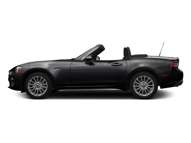 Nero Cinema Jet Black 2017 FIAT 124 Spider Pictures 124 Spider Convertible 2D Classica I4 Turbo photos side view