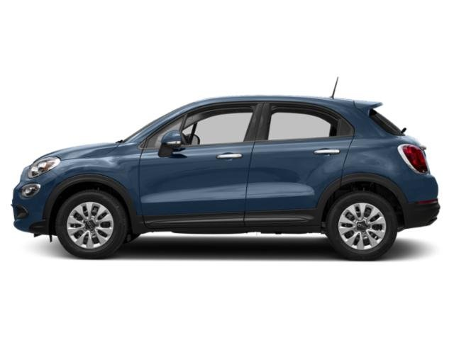 Blue Sky Metallic 2017 FIAT 500X Pictures 500X Lounge FWD photos side view