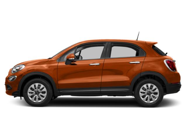 Rame Chiaro (Light Copper) 2017 FIAT 500X Pictures 500X Lounge FWD photos side view