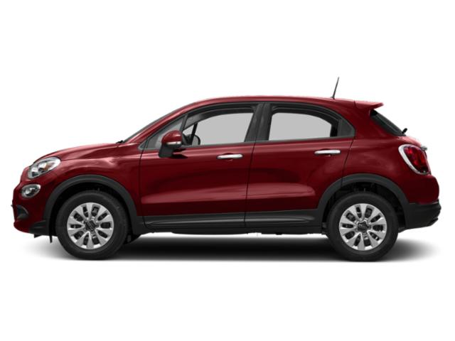 Rosso Passione (Red Hypnotique Clear Coat) 2017 FIAT 500X Pictures 500X Lounge FWD photos side view