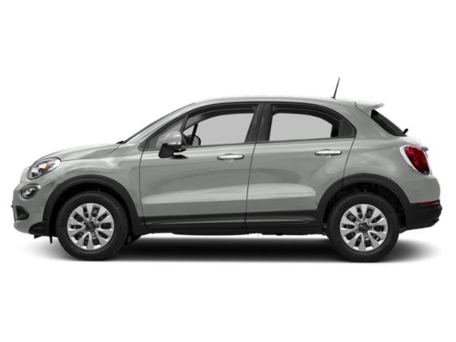 Bianco Gelato (White Clear Coat) 2017 FIAT 500X Pictures 500X Trekking FWD photos side view