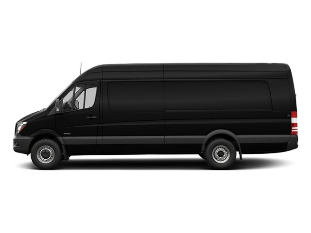 Obsidian Black Metallic 2017 Freightliner Light Duty Sprinter Cargo Van Pictures Sprinter Cargo Van 3500 High Roof V6 170 Extended RWD photos side view