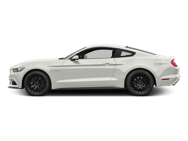 White Platinum Metallic Tri-Coat 2017 Ford Mustang Pictures Mustang Coupe 2D GT V8 photos side view