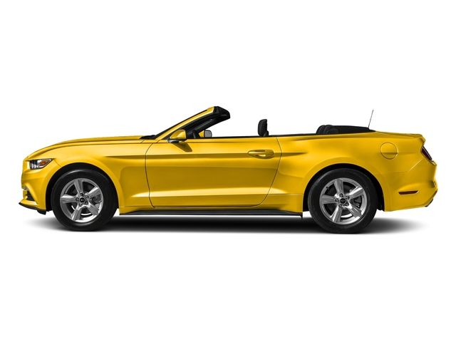 Triple Yellow Tri-Coat 2017 Ford Mustang Pictures Mustang Convertible 2D V6 photos side view