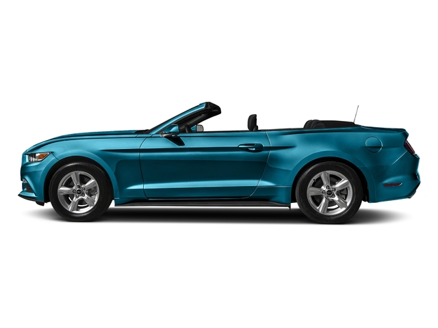 Lightning Blue Metallic 2017 Ford Mustang Pictures Mustang Convertible 2D V6 photos side view