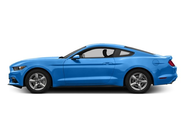 Grabber Blue 2017 Ford Mustang Pictures Mustang Coupe 2D EcoBoost I4 Turbo photos side view