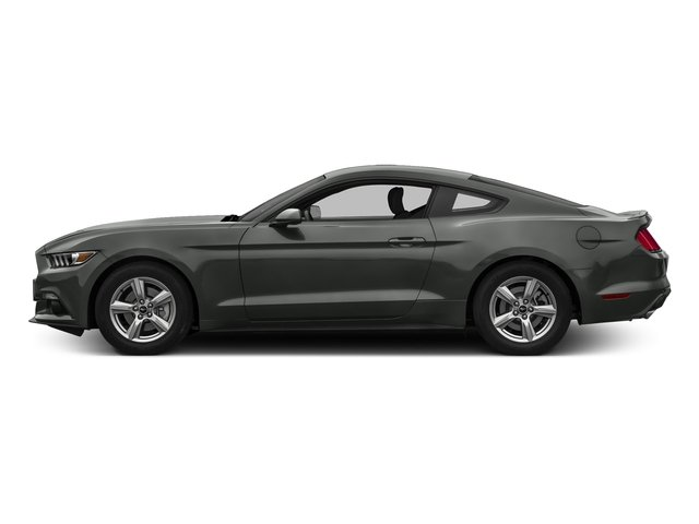 Magnetic Metallic 2017 Ford Mustang Pictures Mustang Coupe 2D EcoBoost I4 Turbo photos side view