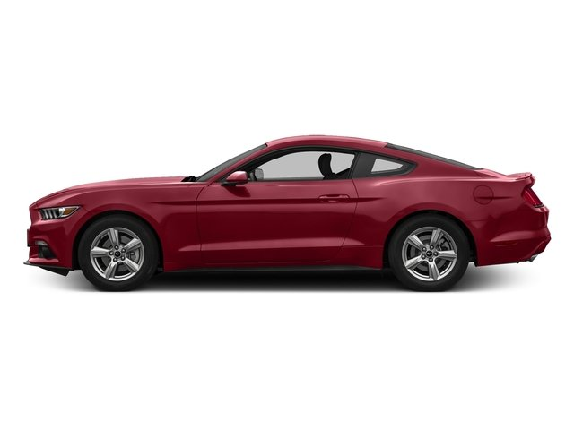 Ruby Red Metallic Tinted Clearcoat 2017 Ford Mustang Pictures Mustang Coupe 2D EcoBoost I4 Turbo photos side view