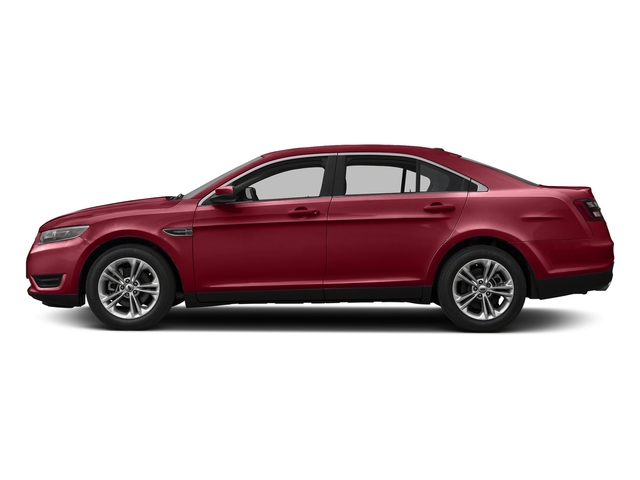 Ruby Red Metallic Tinted Clearcoat 2017 Ford Taurus Pictures Taurus Sedan 4D Limited AWD V6 photos side view
