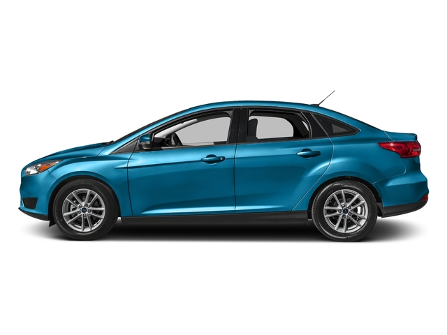 Blue Candy Metallic Tinted Clearcoat 2017 Ford Focus Pictures Focus Sedan 4D SE I4 photos side view