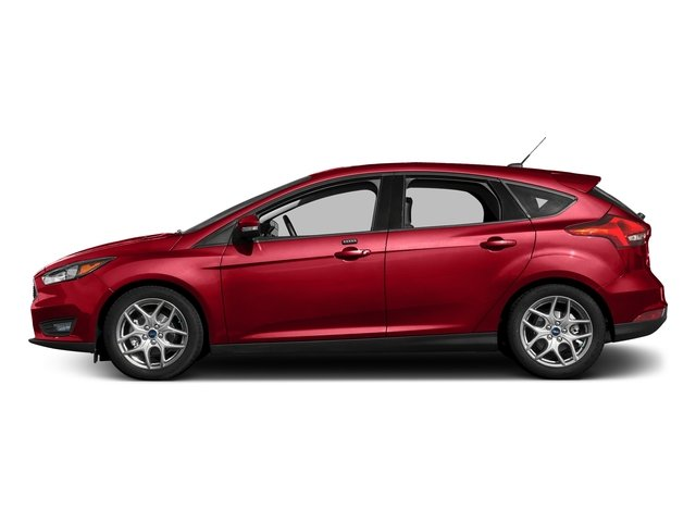 Race Red 2017 Ford Focus Pictures Focus Hatchback 5D SE I4 photos side view