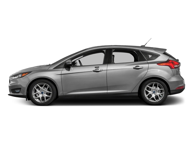 Ingot Silver Metallic 2017 Ford Focus Pictures Focus Hatchback 5D SE I4 photos side view