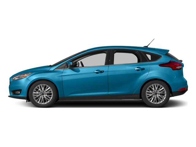 Blue Candy Metallic Tinted Clearcoat 2017 Ford Focus Pictures Focus Hatchback 5D Titanium I4 photos side view