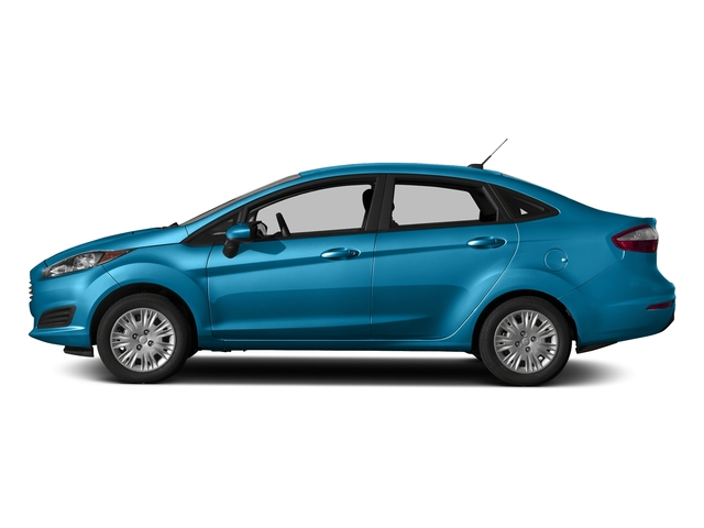 Blue Candy Metallic Tinted Clearcoat 2017 Ford Fiesta Pictures Se Sedan Photos Side View