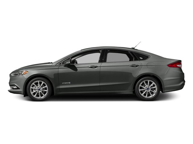 Magnetic 2017 Ford Fusion Pictures Fusion Sedan 4D SE I4 Hybrid photos side view