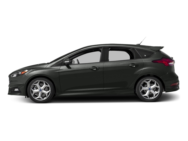 Magnetic Metallic 2017 Ford Focus Pictures Focus Hatchback 5D ST I4 Turbo photos side view