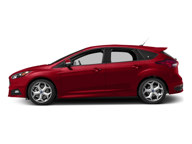 Race Red 2017 Ford Focus Pictures Focus Hatchback 5D ST I4 Turbo photos side view