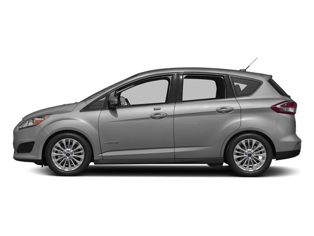 Ingot Silver Metallic 2017 Ford C-Max Hybrid Pictures C-Max Hybrid Hatchback 5D SE I4 Hybrid photos side view