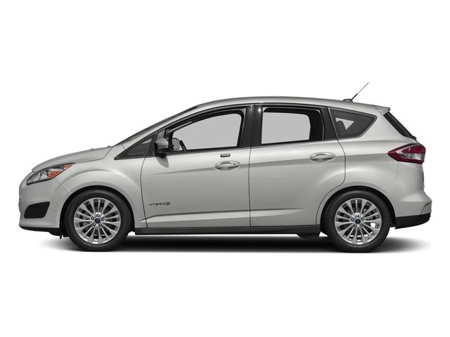 Oxford White 2017 Ford C-Max Hybrid Pictures C-Max Hybrid Hatchback 5D SE I4 Hybrid photos side view