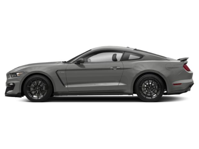 Avalanche Gray 2017 Ford Mustang Pictures Mustang Coupe 2D Shelby GT350 R V8 photos side view