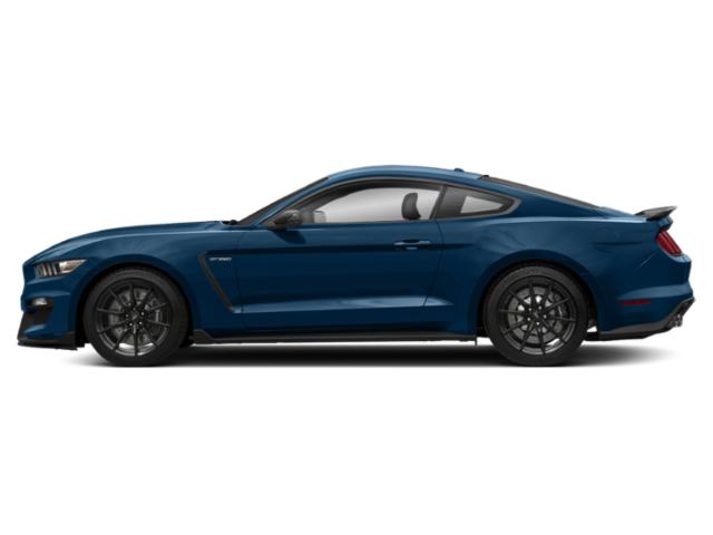 Lightning Blue Metallic 2017 Ford Mustang Pictures Mustang Coupe 2D Shelby GT350 R V8 photos side view