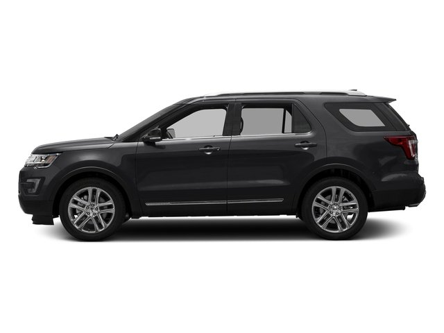 Smoked Quartz Metallic Tinted Clearcoat 2017 Ford Explorer Pictures Explorer Utility 4D XLT 4WD V6 photos side view