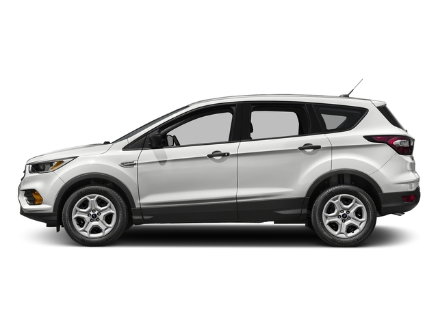 Oxford White 2017 Ford Escape Pictures Escape Utility 4D S 2WD I4 photos side view