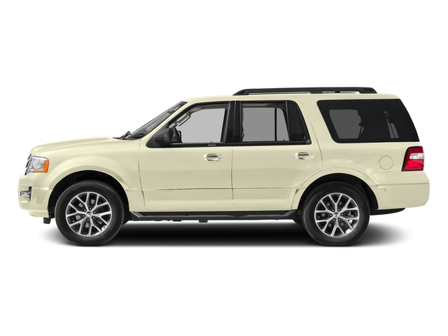 White Gold 2017 Ford Expedition Pictures Expedition Utility 4D XLT 4WD V6 Turbo photos side view