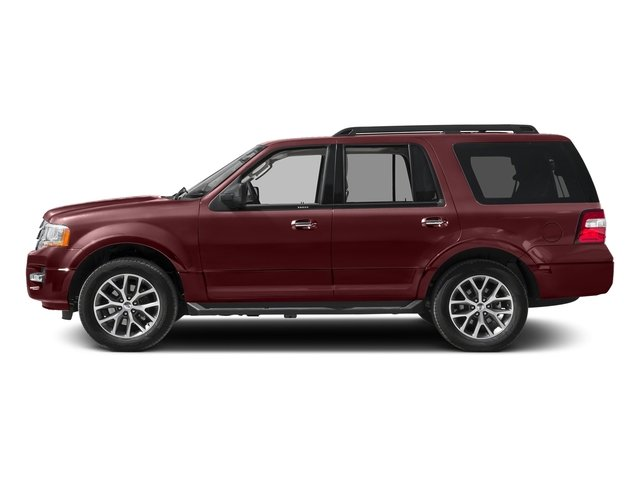 Bronze Fire 2017 Ford Expedition Pictures Expedition Utility 4D XLT 4WD V6 Turbo photos side view