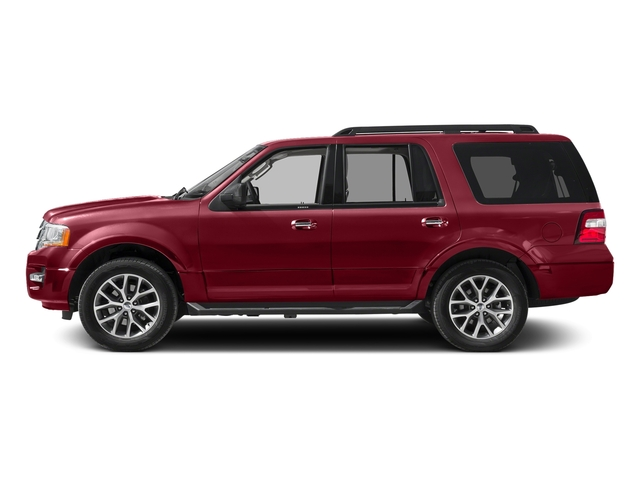 Ruby Red Metallic Tinted Clearcoat 2017 Ford Expedition Pictures Expedition Utility 4D XLT 4WD V6 Turbo photos side view