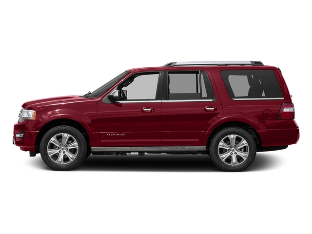 Ruby Red Metallic Tinted Clearcoat 2017 Ford Expedition Pictures Expedition Utility 4D Platinum 2WD V6 Turbo photos side view
