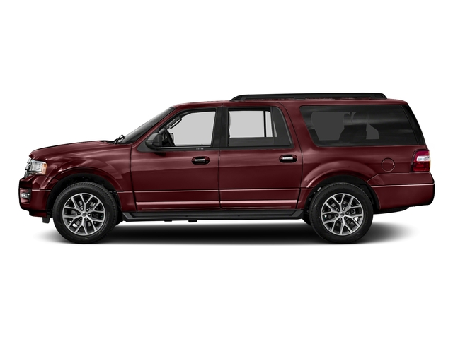 Bronze Fire 2017 Ford Expedition EL Pictures Expedition EL Utility 4D XLT 4WD V6 Turbo photos side view