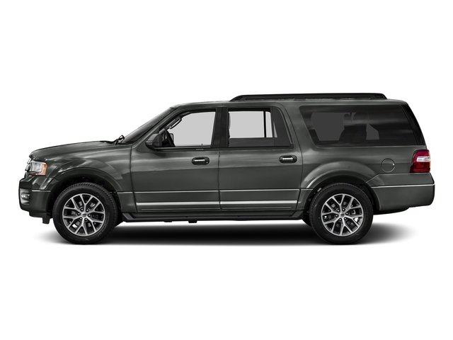 Magnetic 2017 Ford Expedition EL Pictures Expedition EL Utility 4D XLT 4WD V6 Turbo photos side view