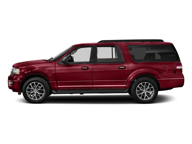 Ruby Red Metallic Tinted Clearcoat 2017 Ford Expedition EL Pictures Expedition EL Utility 4D XLT 4WD V6 Turbo photos side view